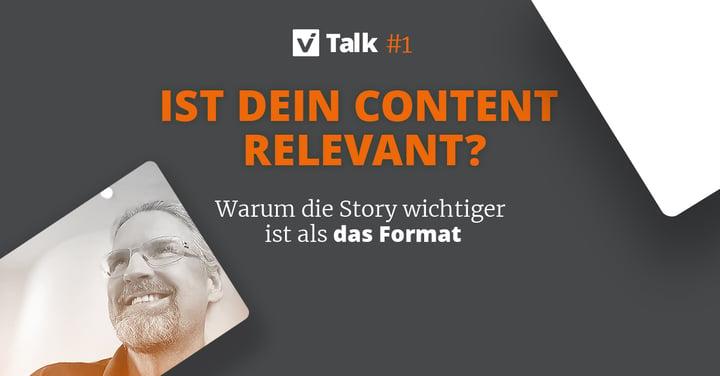 viTalk: Ist dein Content relevant?
