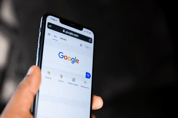 Handy mit Google