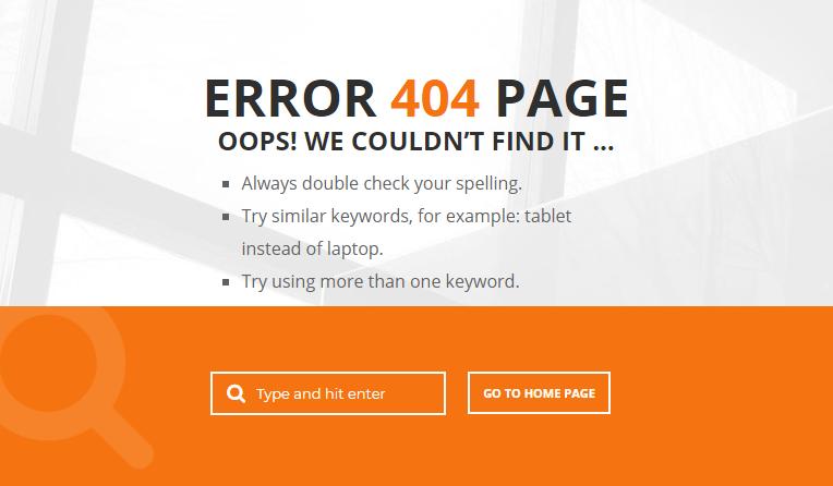 404 Fehler