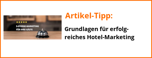 Artikel-Tipp Hotel-Marketing