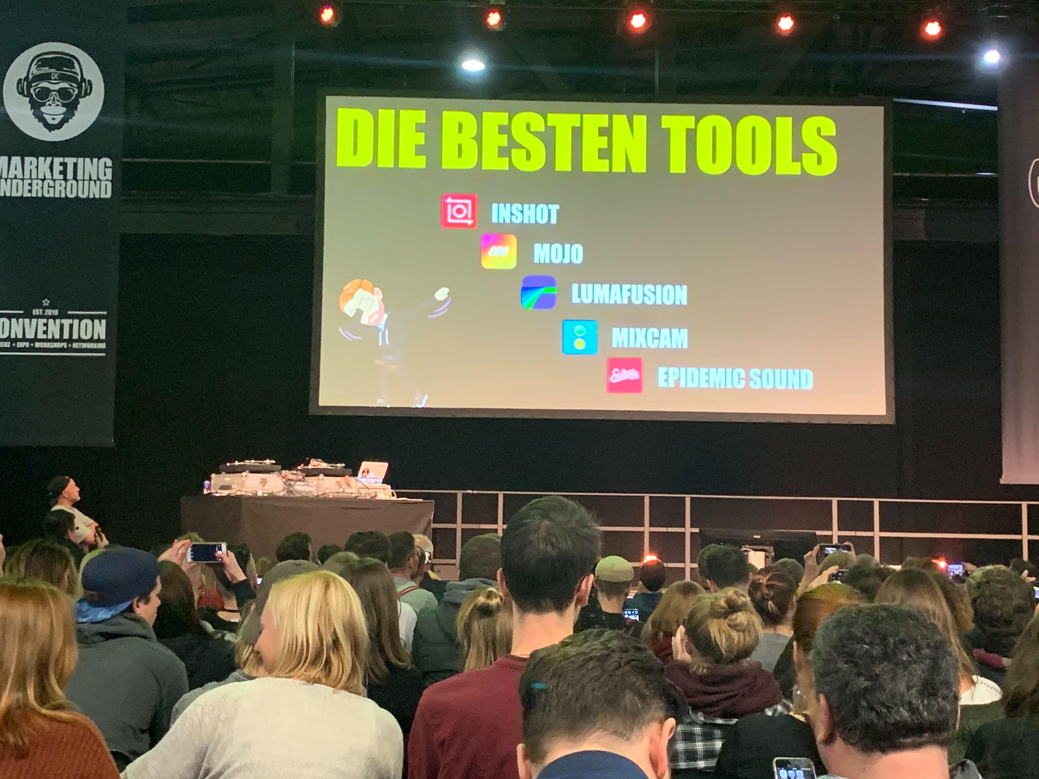 Tools für Social Media