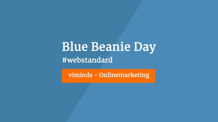 Blue Beanie Day Header
