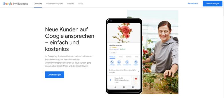 Mit Google My Business Dein lokales Ranking verbessern