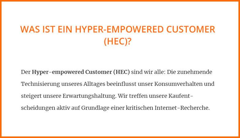 Was ist ein Hyper-empowered-Customer?