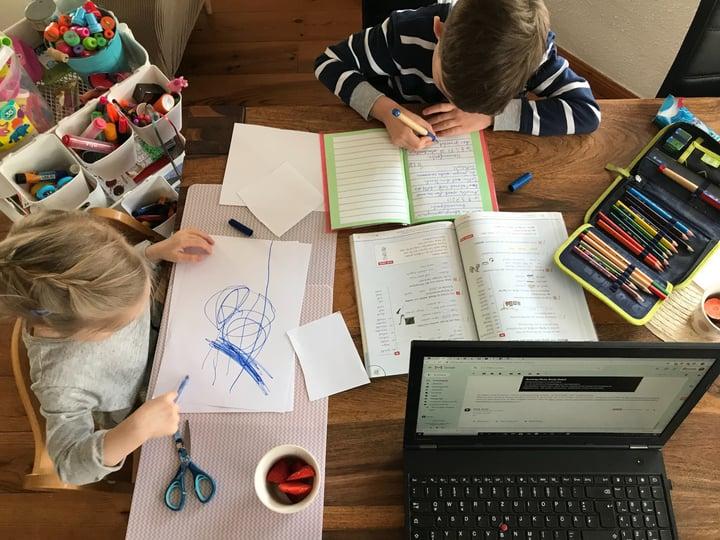 5 Tipps zum Arbeiten im Homeoffice mit Kindern