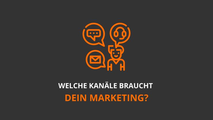 Kommunikationskanäle Marketing