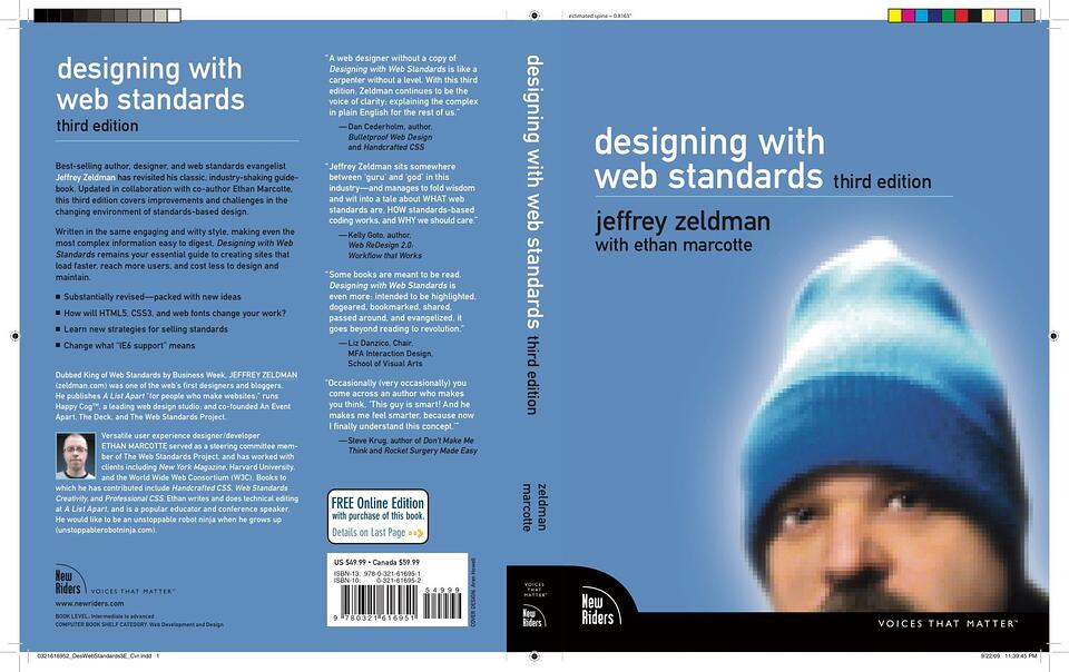Buch: Designing with Web Standards - jeffrey zeldman