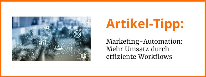 Artikel-Tipp: Marketing-Automation