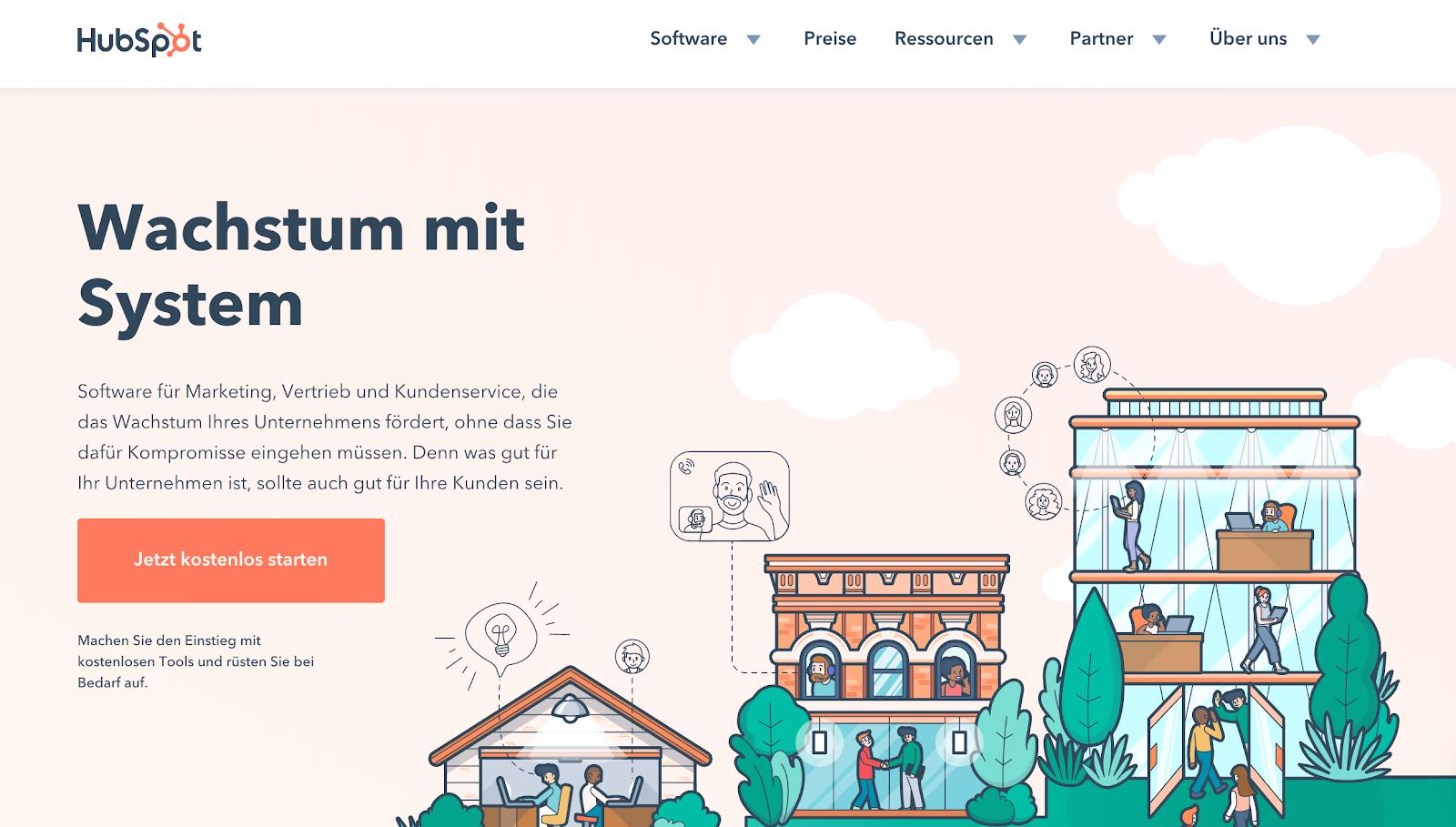 HubSpot ist eine All-in-one-Plattform für Deine Marketing-Automation.