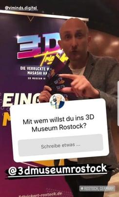 Wetter Werner 3D Trickart