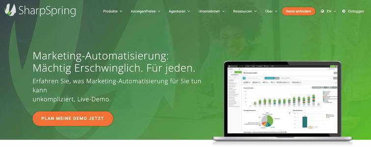 SharpSpring: Marketing-Automatisierung