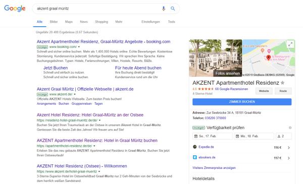 Google-Ergebnis für AKZENT Graal Müritz