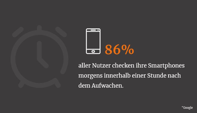 Mobile Werbung auf Smartphones