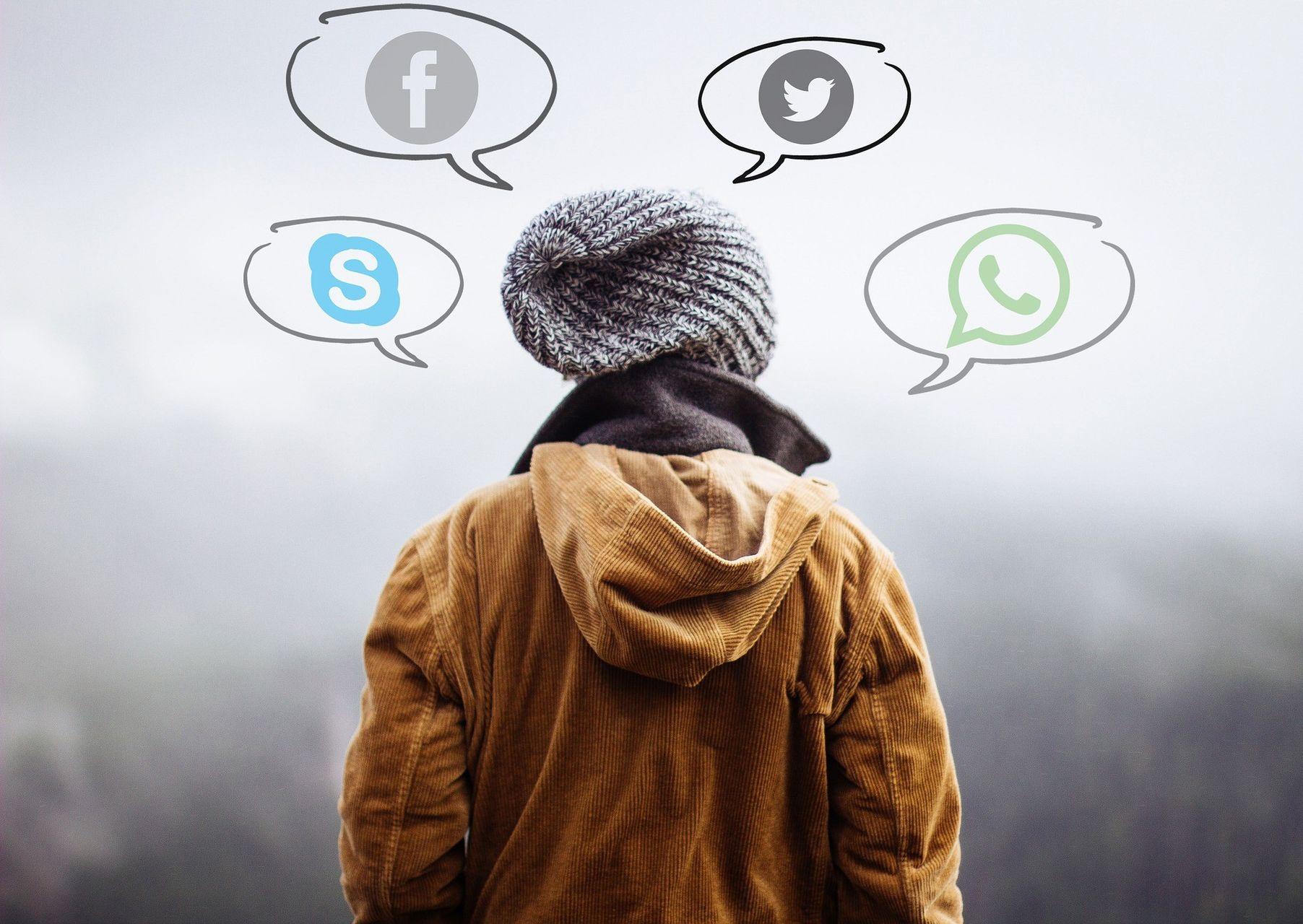 Social-Media-Präsenz