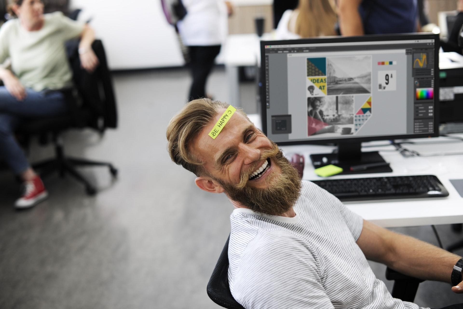 Freude am Arbeitsplatz
