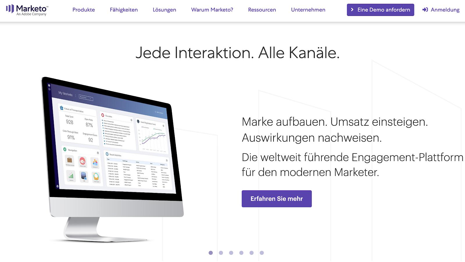 Marketo: Engagement-Plattform für automatisiertes Marketing
