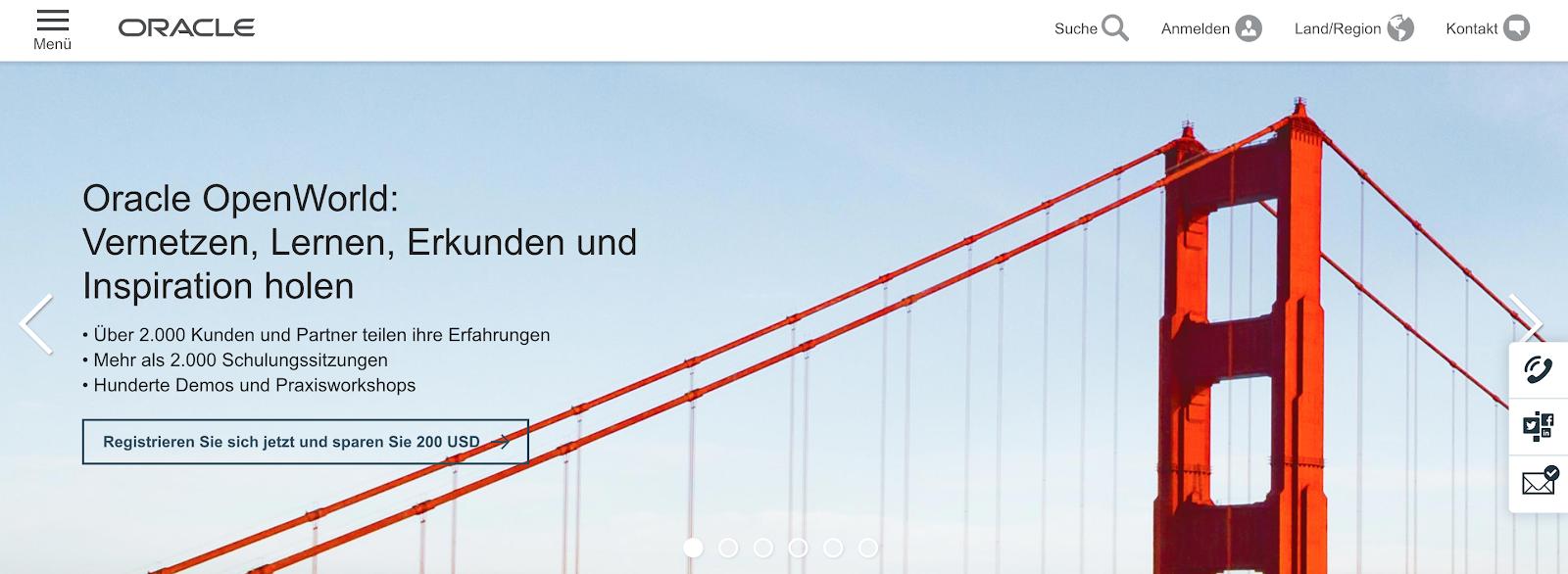 Oracle Eloqua: Automation-Software für SaaS